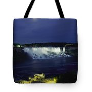 American Side Of Niagara Falls, Seen Tote Bag