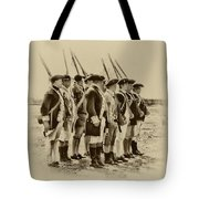 American Soldiers At Fort Mifflin Tote Bag