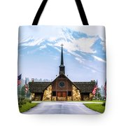 American Soldiers Chapel Tote Bag