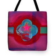 American Spiritual Decal Tote Bag