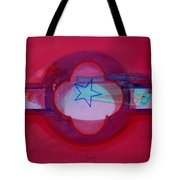 American Star Of The Sea Tote Bag
