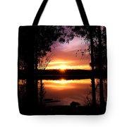 American Sunset Tote Bag