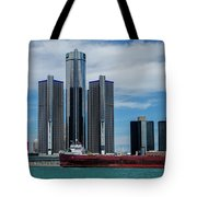 American Victory At Detroit Tote Bag
