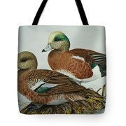 American Widgeons Tote Bag