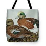 American Widgeons Tote Bag