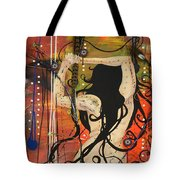 American Witch Tote Bag
