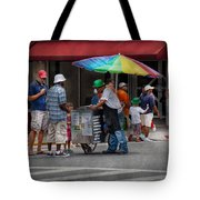 Americana - Mountainside Nj - Buying Ices  Tote Bag