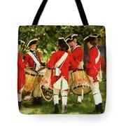 Americana - People - Preparing For Battle Tote Bag