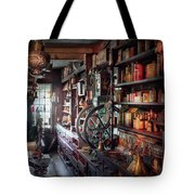 Americana - Store - Corner Grocer  Tote Bag by Mike Savad