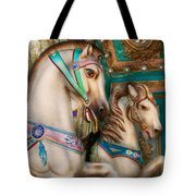 Americana - Carousel Beauties Tote Bag