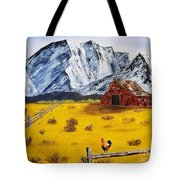 Americana - Plains Of Colorado Tote Bag