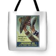 Americans All Tote Bag