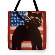 Americat Cat Butt Tote Bag