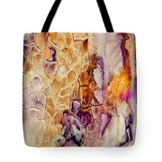Amethyst And Copper 1 Tote Bag