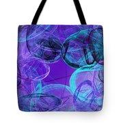 Amethyst Gems Stones Tote Bag