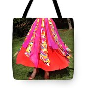Ameynra Belly Dance Fashion - Multi-color Skirt 93 Tote Bag