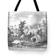 Amherst College, 1855 Tote Bag