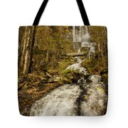 Amicola Falls Gushing Tote Bag