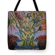 Amidst The Blooms  Tote Bag
