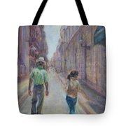 Amigos En Havana Tote Bag