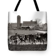 Amish Agriculture  Tote Bag