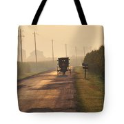 Amish Buggy And Corn Over Your Head Tote Bag