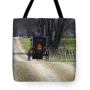 Amish Buggy March 2016 Tote Bag