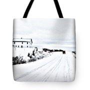 Amish Christmas Tote Bag