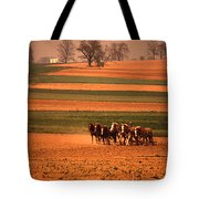 Amish Country Farm Landscape Tote Bag