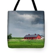 Amish County Landscape Tote Bag