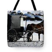 Amish Crossing Tote Bag