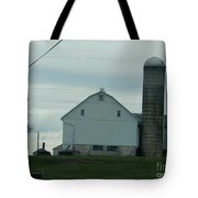 Amish Dairy Farm Tote Bag