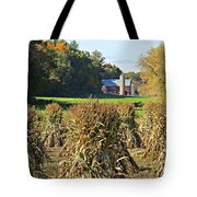 Amish Farm Country Fall Tote Bag