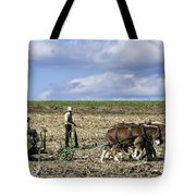 Amish Farmer Tote Bag