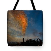 Amish Fireworks Tote Bag