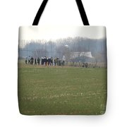 Amish Friends Gather Tote Bag