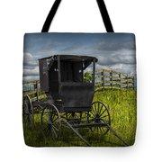 Amish Horse Buggy Tote Bag