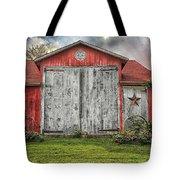 Amish Red Barn Tote Bag