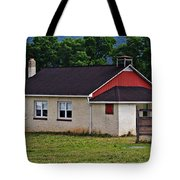 Amish School In Rote, Pa Tote Bag