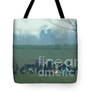 Amish Watching A Volleyball Game Tote Bag