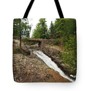 Amity Creek Falls Tote Bag
