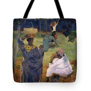 Among The Magoes At Martinique Tote Bag