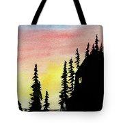 Among The Pines Tote Bag