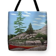 Among The Rocks II Tote Bag