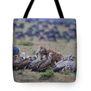 Among The Vultures 1 Tote Bag