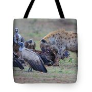 Among The Vultures 3 Tote Bag