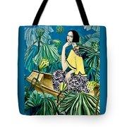 Among The Withered Lotus  Tote Bag