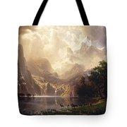 Among_the_sierra_nevada,_california Tote Bag
