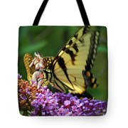 Amorous Butterfly And Faerie Tote Bag