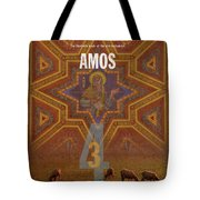 Amos Books Of The Bible Series Old Testament Minimal Poster Art Number 30 Tote Bag